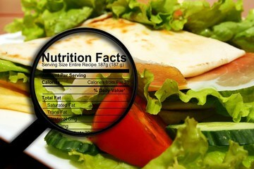 A close look at nutrition facts label