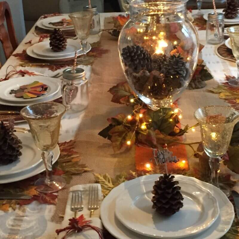 beautiful Thanksgiving table setting ideas