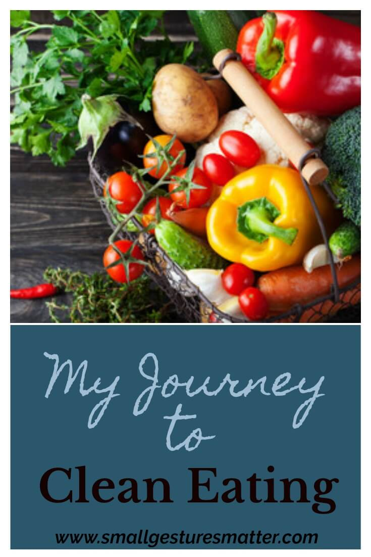 My goal to get healthier in the new year led to my passion for clean eating.