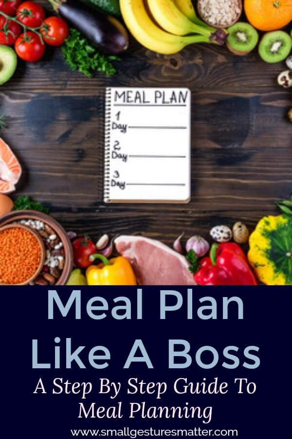 Meal Plan Like A Boss