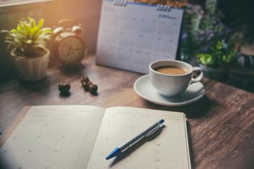 Calendar and Meal Plan Check List