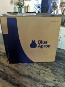 Blue Apron Meal Kit Box