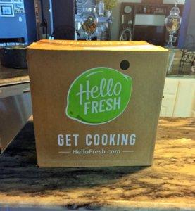 Hello Fresh Box I received