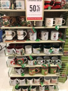 Hot Cocoa Mugs from Hobby Lobby