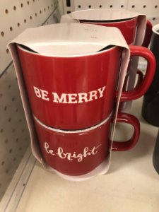 Holiday Hot Cocoa Mugs from Target