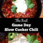 Game Day Slow Cooker Chili