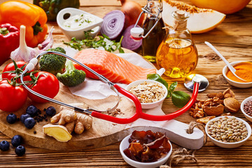 Heart healthy diet - reduced meat consumption