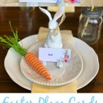 Free Printable Easter Bunny Place Cards