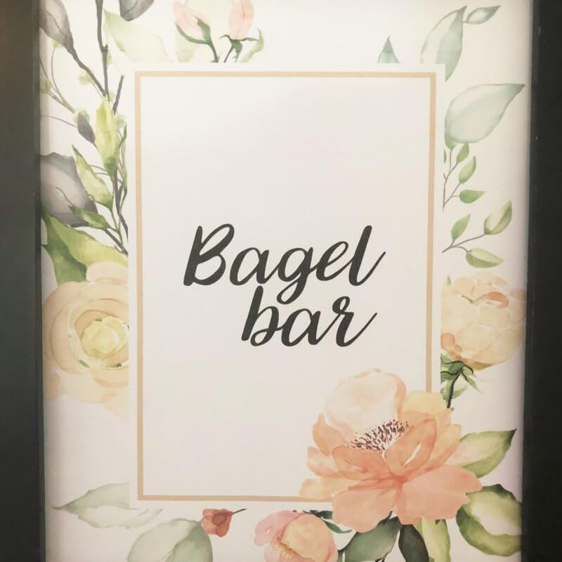 prng floral free bagel bar printable