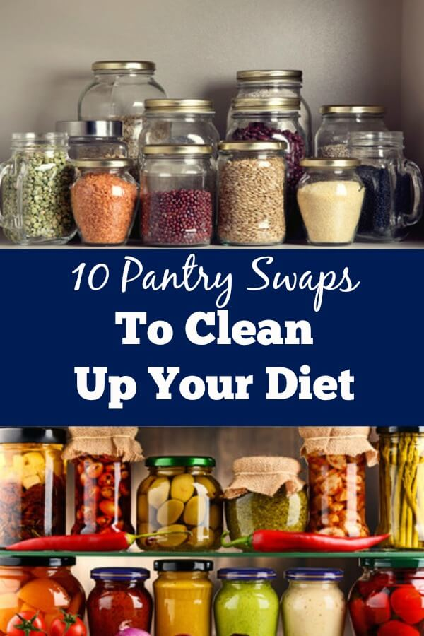 Clean up your diet with these 10 pantry swaps!