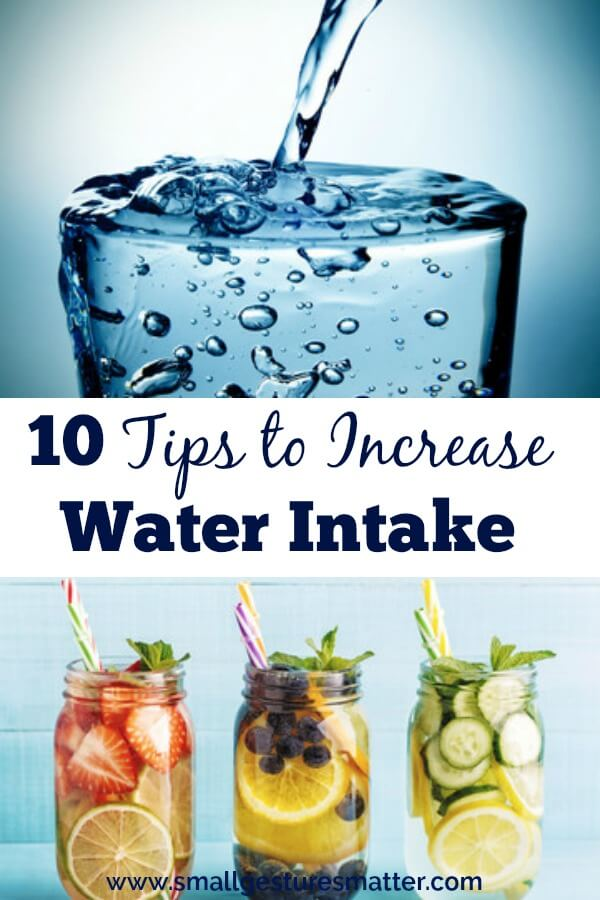 10 Tips to Increase Water Intake - Are you getting enough water? How much water should you be drinking each day? What are some of the health benefits of water?