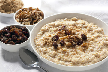 Oatmeal - Purchase plain oatmeal and flavor it yourself