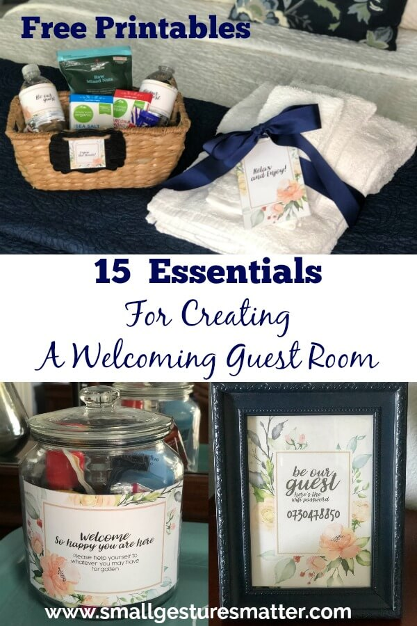 15 Guest Room Essentials