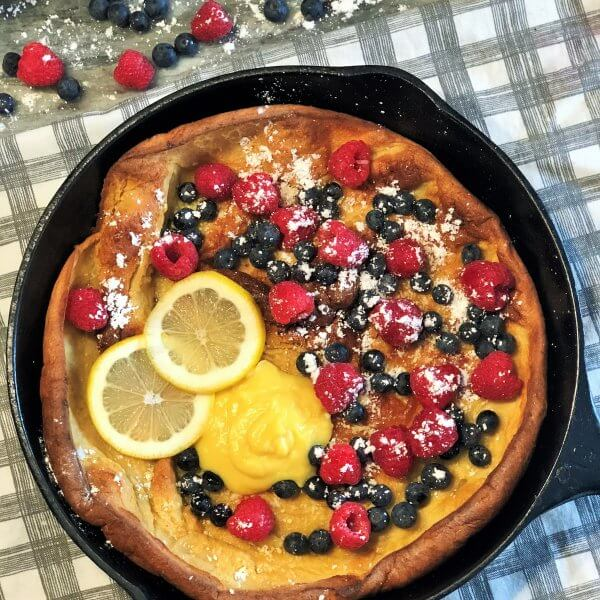 Whole Wheat Dutch Baby
