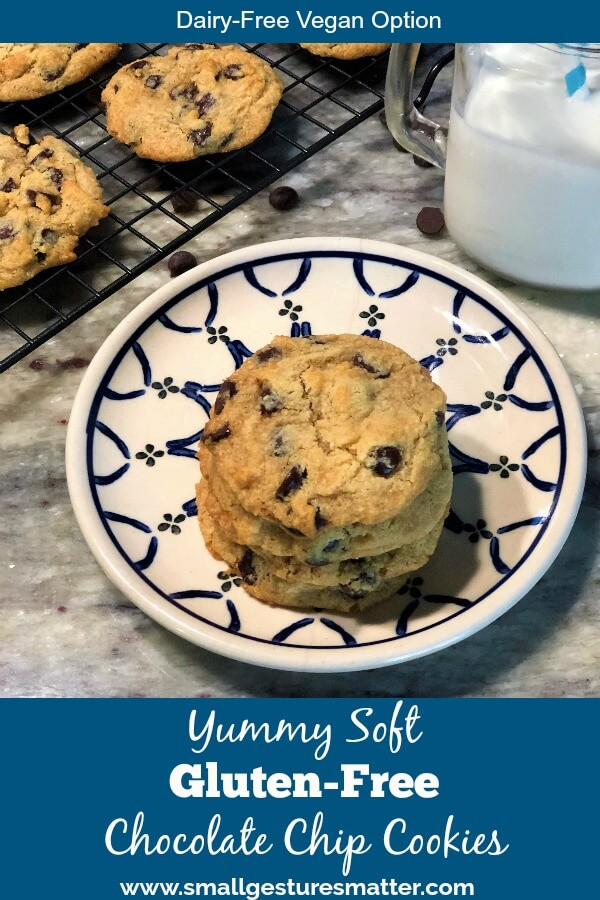 Yummy Gluten Free Chocolate Chip Cookies