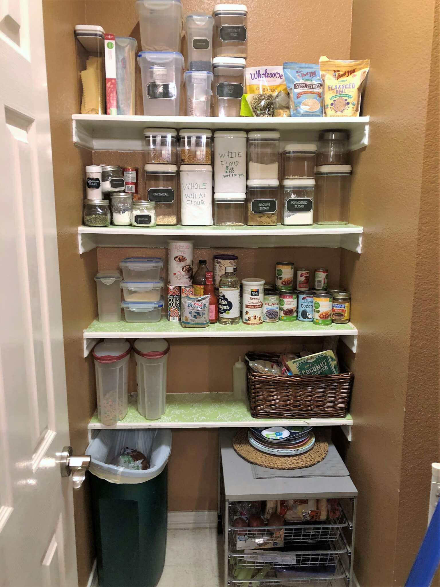 Pantry Makeover Before