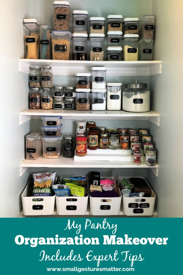 Complete Pantry Makeover