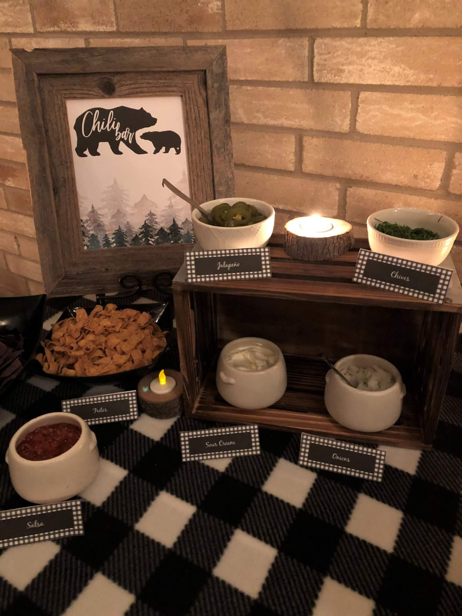 Chili Bar Party Ideas and Tip with free Printables