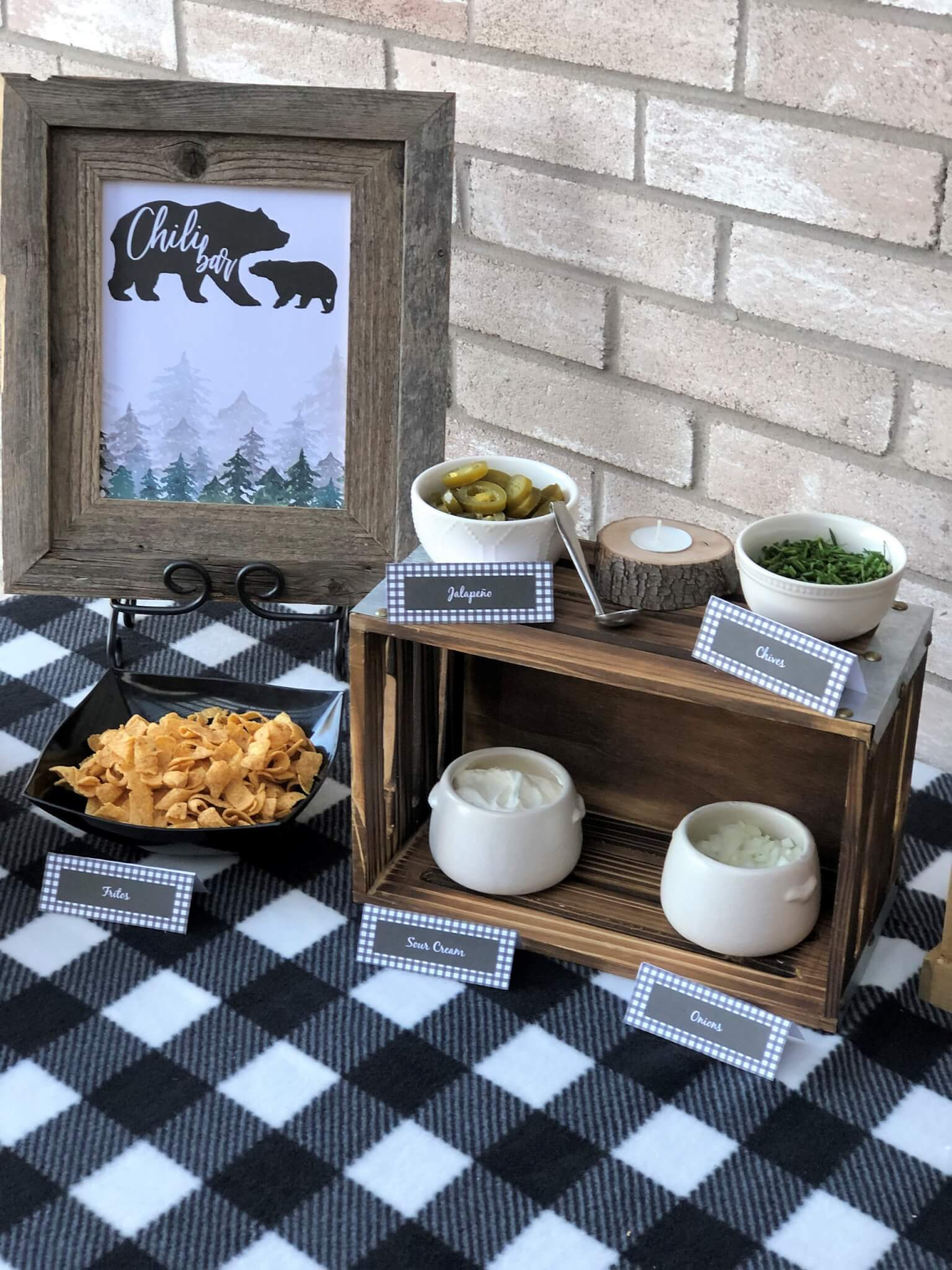 Creating a chili bar is a fun and easy way to host a gathering for any occasion. These ideas for toppings, decorations, sides, and more will help you to throw an epic chili party your guests will love. Free printables with multiple themes included!
