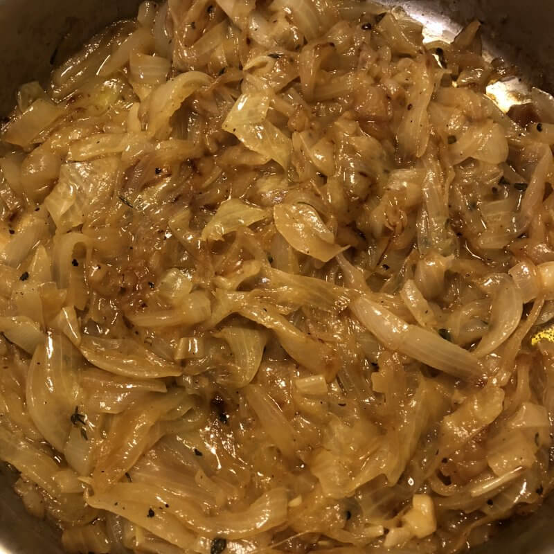Caramelized Onions for French Onion Soup