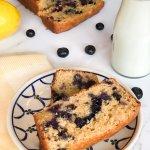Whole Wheat Lemon Blueberry Bread