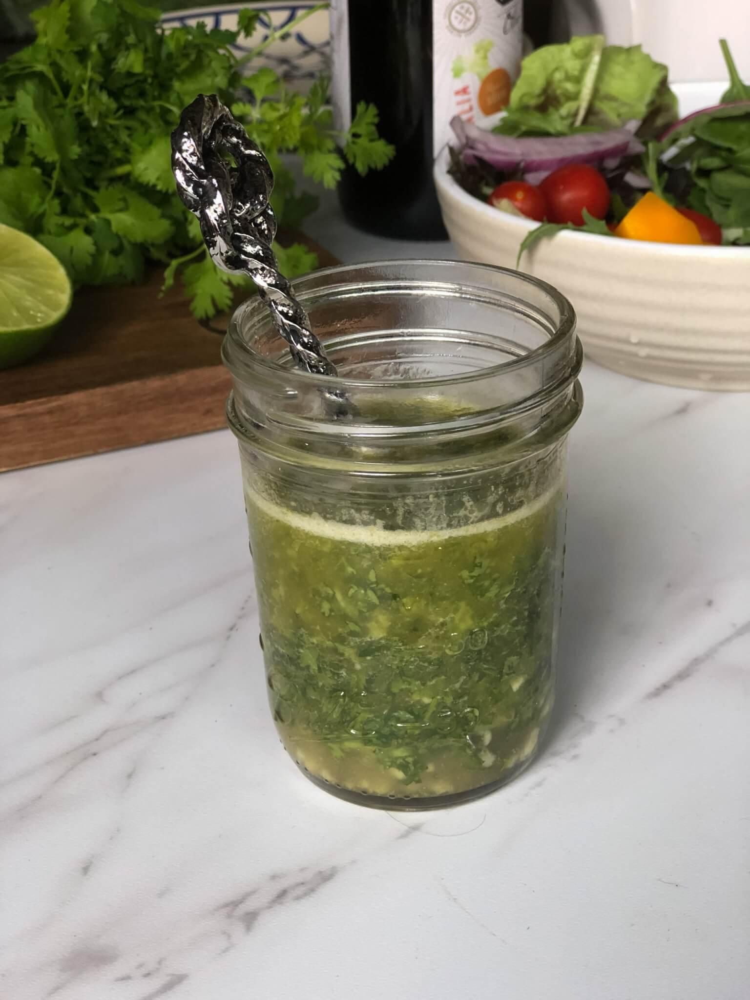 cilantro lime vinaigrette for shrimp mango avocado salad