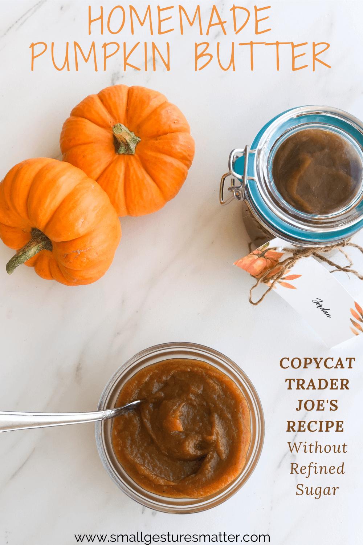 Home Made Pumpkin Butter - Copycat Trader Joe's Recipe