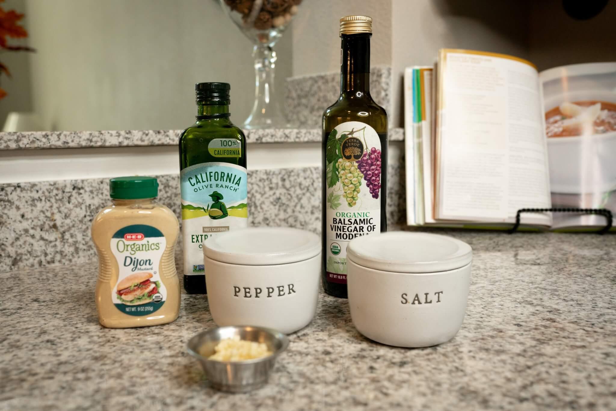 Balsamic Vinaigrette Dressing Ingredients