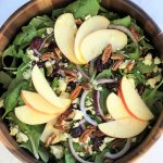 Autumn Apple and Pecan Salad