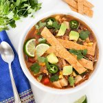 The Best Slow Cooker Chicken Tortilla Soup