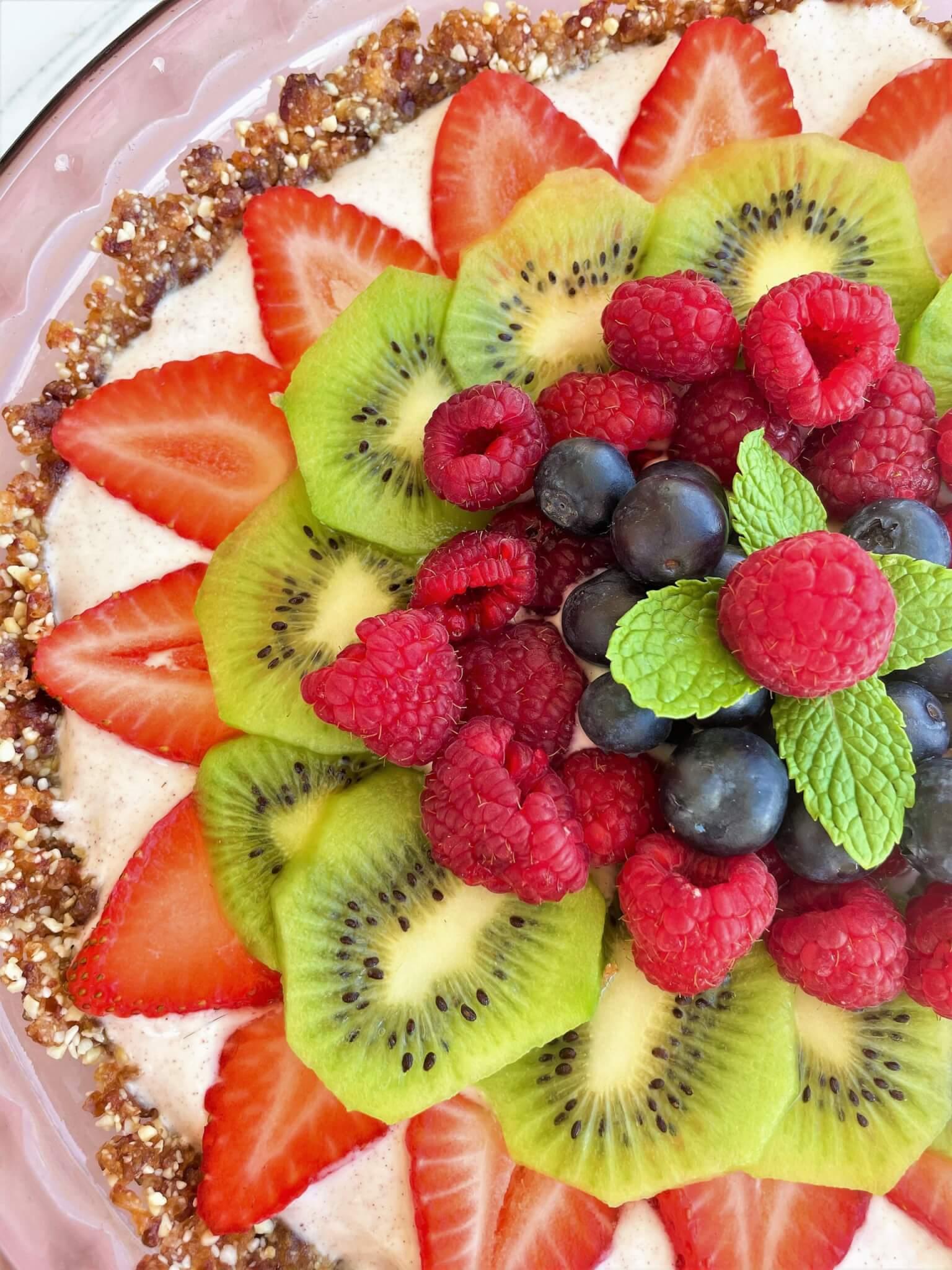 Fruit and Yogurt Tart