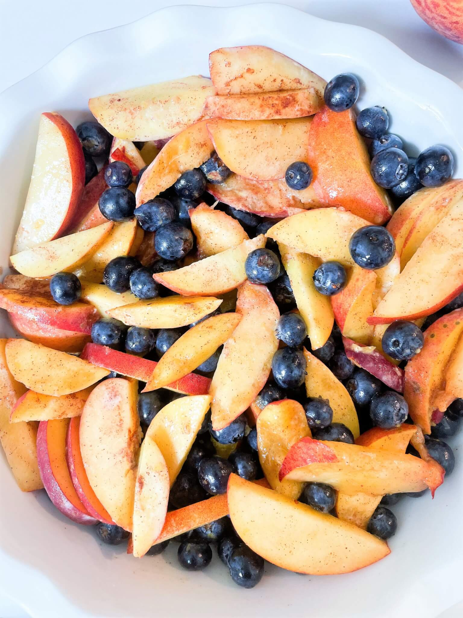 blueberry and peach filling